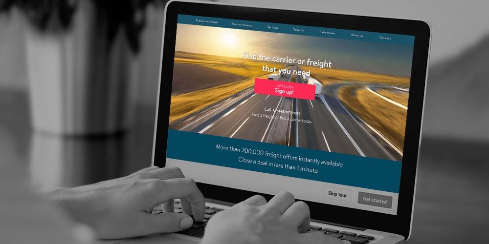 Freight Exchange platform